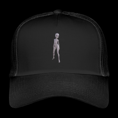 Alien naked woman - Trucker Cap