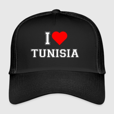 I love Tunisia - Trucker Cap