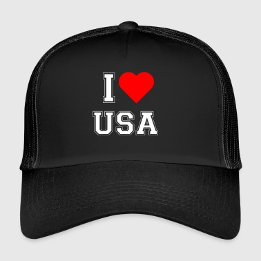 I love USA - Trucker Cap