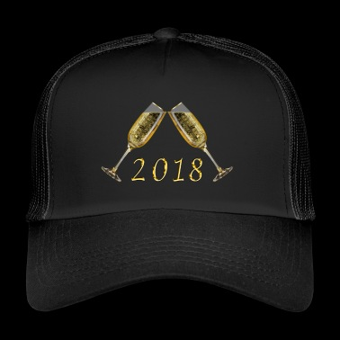 2018 Nouvel An Nouvel An - Trucker Cap