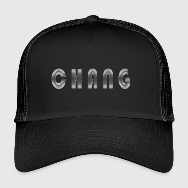First name Chang Name Name day Birth Gift idea - Trucker Cap