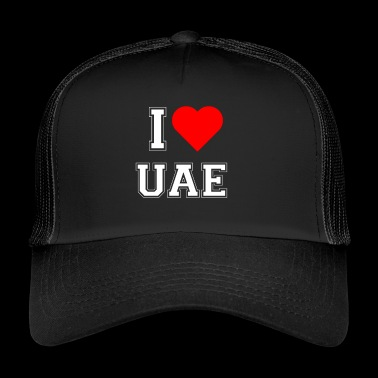 I love UAE - Trucker Cap