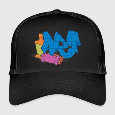 graffiti - Trucker Cap