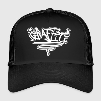 "Graffiti Tag ""Graffiti"" alle designs - Trucker Cap"
