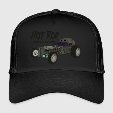 Hot Rod from the future v3 Kmlf style - Trucker Cap