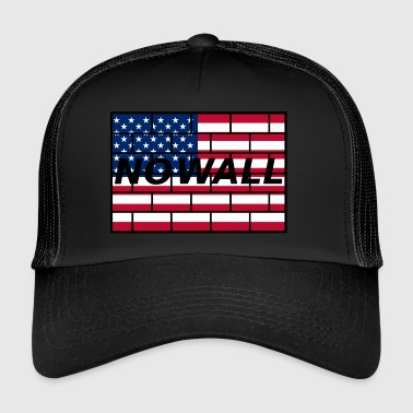 no wall - Trucker Cap