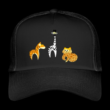 Safari - Zoo - Kids / Kids - Trucker Cap
