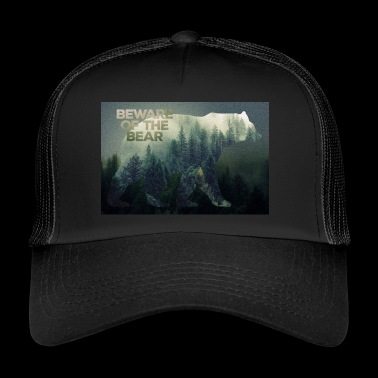 Wilderness Bears poster - Trucker Cap