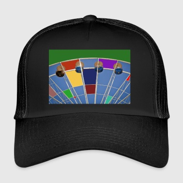 Grande roue d'abstraction - Trucker Cap