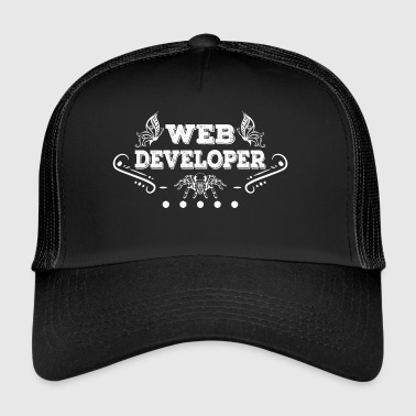 Web Developer Spider - Trucker Cap