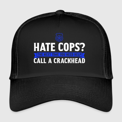 Politie - Police Officer - New Orleans - Gift - Trucker Cap