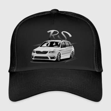tuning car - Trucker Cap