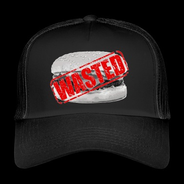 Hamburger waste - Trucker Cap