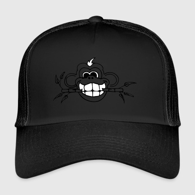 Monkey Bamboo whiteteeth - Trucker Cap