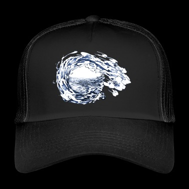 water - Trucker Cap