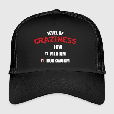 T-Shirt crazy Bookworm - Trucker Cap