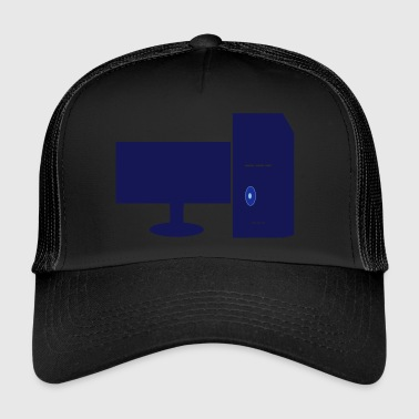 computers - Trucker Cap