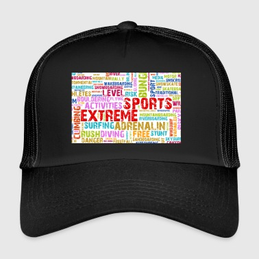 sports extrêmes - Trucker Cap