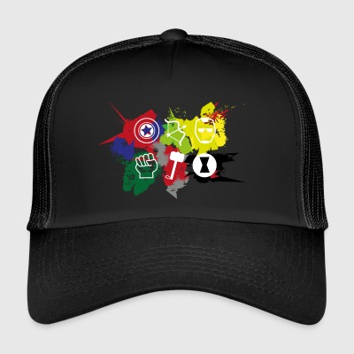 Superhero Team - Trucker Cap