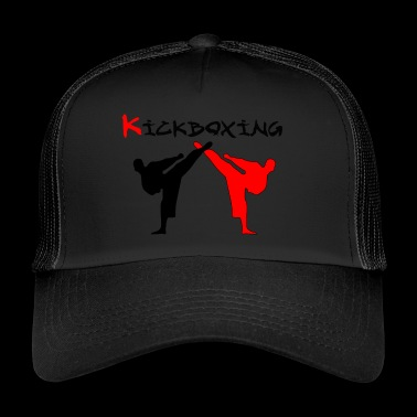 Kickboxer Fight MMA schaduw Muy Thai - Trucker Cap