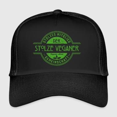 Proud atleti Vegan regalo Community - Trucker Cap