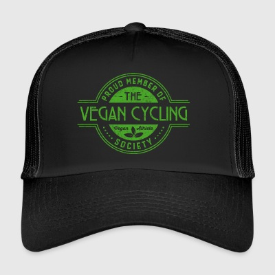 Vegan Cycling Athlete Society Club Member Gift - Trucker Cap