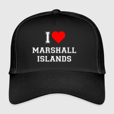 I love Marshall Islands - Trucker Cap