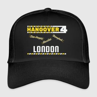 Hangover Party London England Great Britain Reise - Trucker Cap