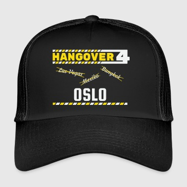 Hangover Party Oslo Norway Travel - Trucker Cap