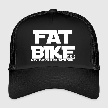 FATBIKE - MAY THE GRIP BE WITH YOU 1 - Trucker Cap