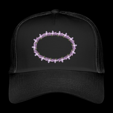 lilac elder flower flowers spring - Trucker Cap