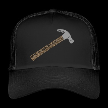 Hammer timmerman workshop timmermansgereedschap spijker - Trucker Cap
