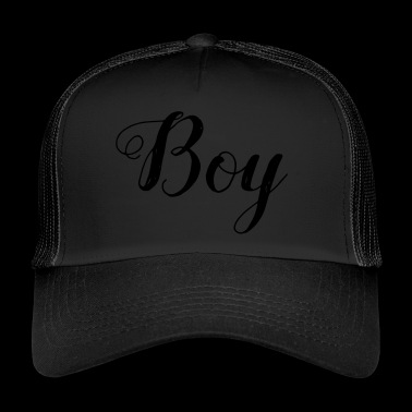 Boy - boy - Trucker Cap