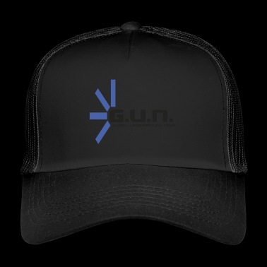 Global Underground News Logo GUN - Trucker Cap