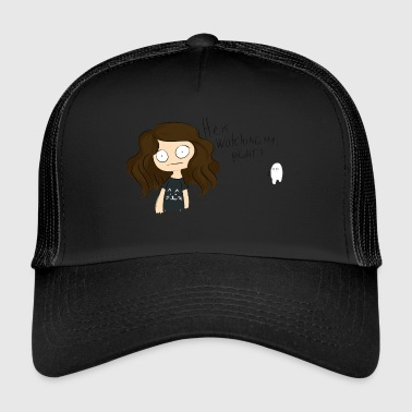 Hij is watching me? - Trucker Cap