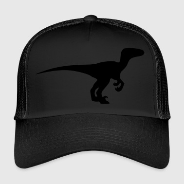 Raptor / Velociraptor (extinct prehistoric Dino) - Trucker Cap