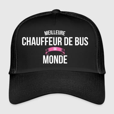 casquettes et bonnets chauffeur de bus commander en ligne spreadshirt. Black Bedroom Furniture Sets. Home Design Ideas