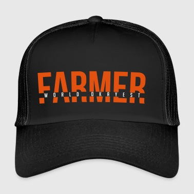 World Okayest Farmer - Trucker Cap