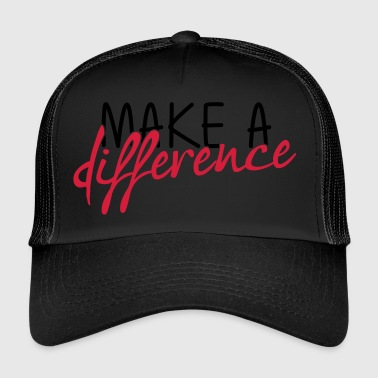 make- - Trucker Cap