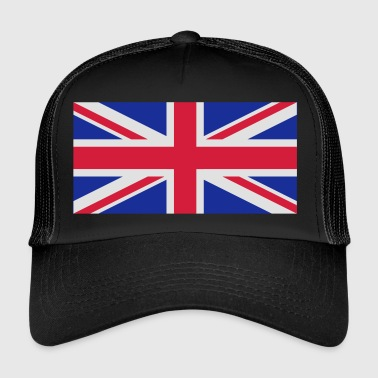 Det Forenede Kongeriges nationale flag - Trucker Cap