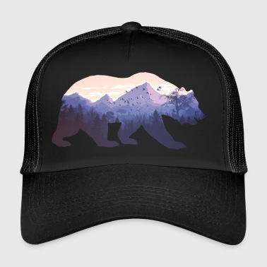 Villmark Bear Nature gave - Trucker Cap