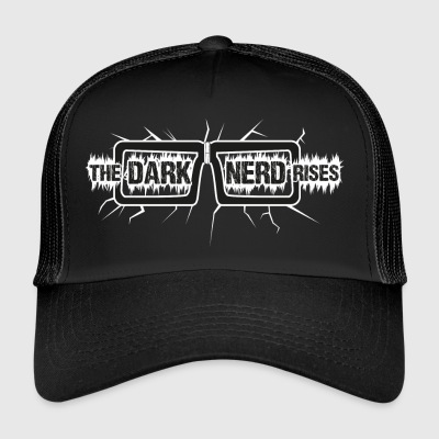 The Dark Rises Nerd (ciemne tło) - Trucker Cap
