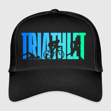 Triathlète - couleur - Triathlon - Trucker Cap
