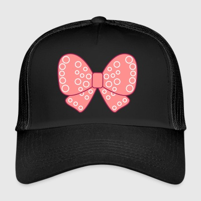 Girly knot very pink girl - Trucker Cap