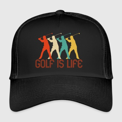 Retro Pop Art Golf is Life Gifts for golfer. SALE - Trucker Cap