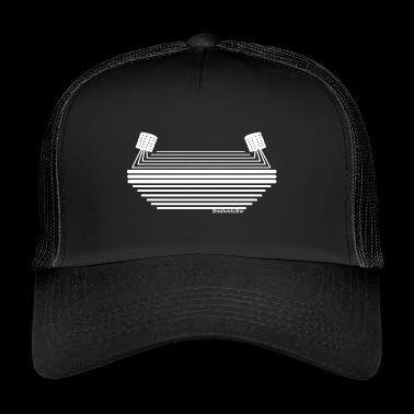 Stadium culture white logo - Trucker Cap