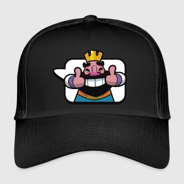 Emoticon König Royale Clash - Trucker Cap