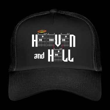 Heaven and Hell in Guitar Chords - Trucker Cap