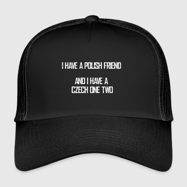 czech_one_two - Trucker Cap