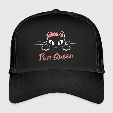 Purr Queen - Trucker Cap